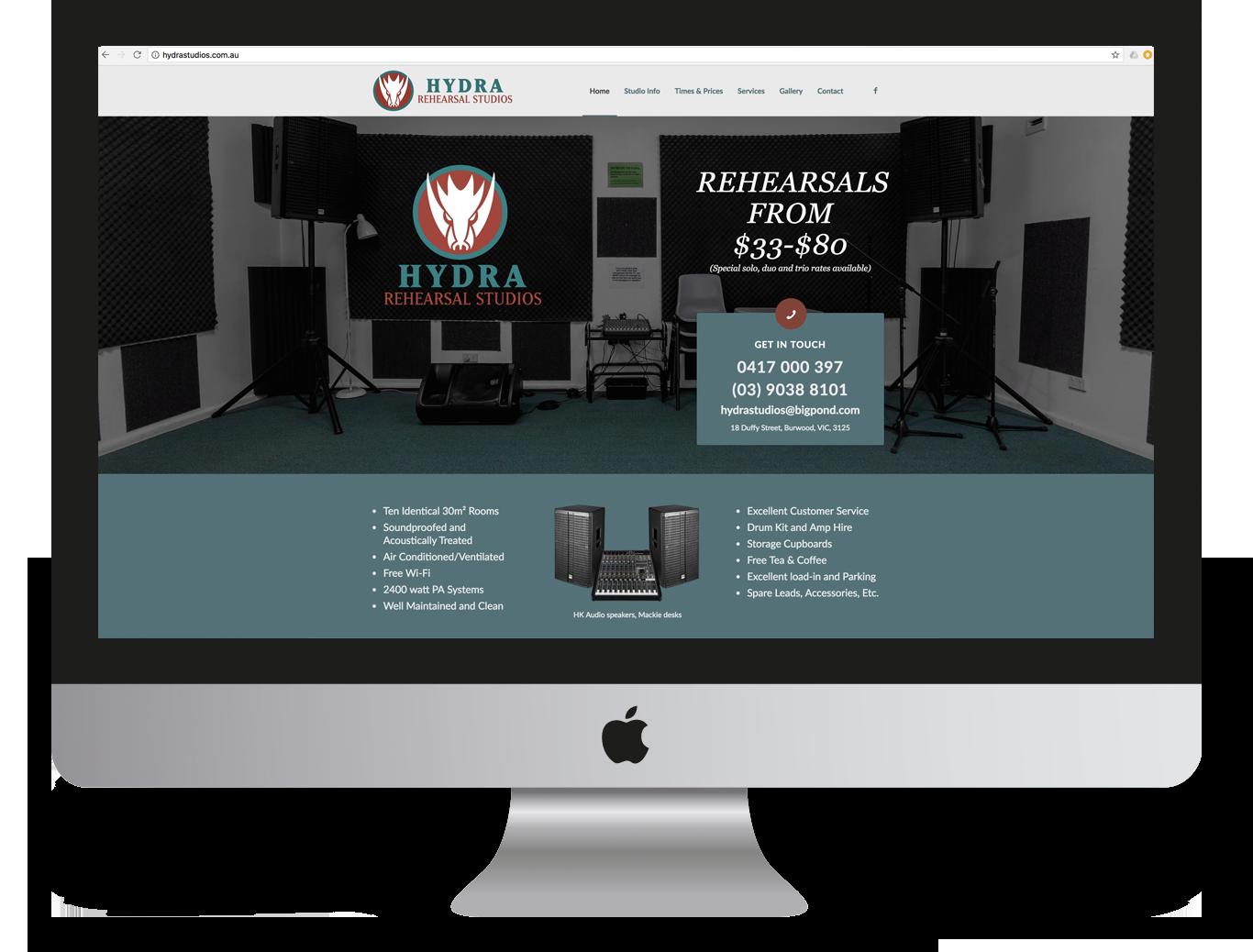 Hydra Studios Website Design and Development - Ignite Group Website Development - Miki Media   Melbourne Web Design Services