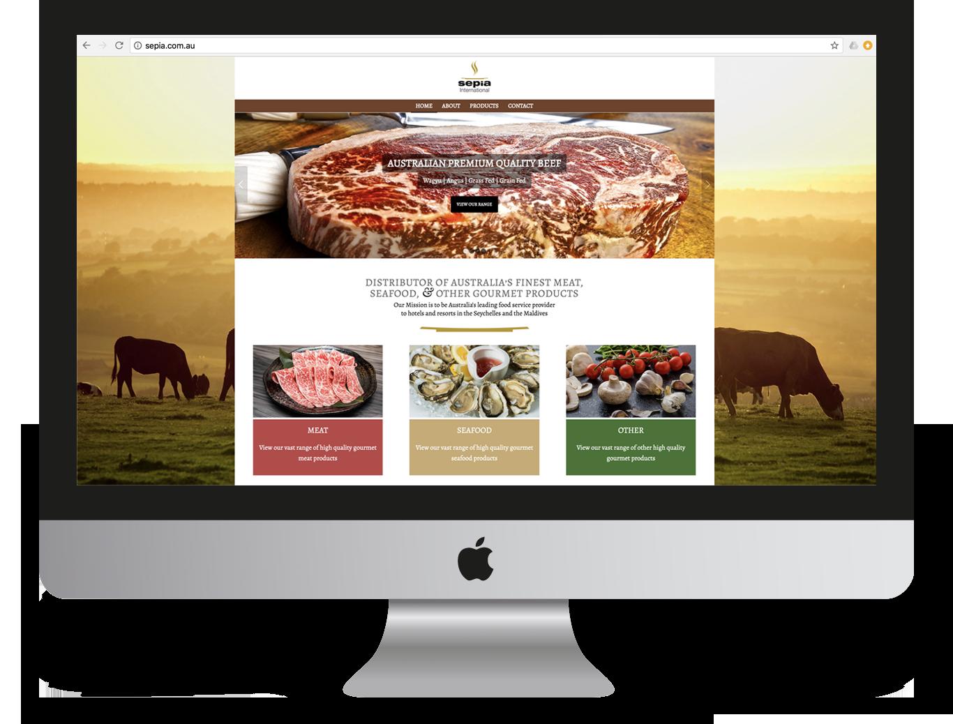 Sepia International Website Design and Development - Ignite Group Website Development - Miki Media   Melbourne Web Design Services